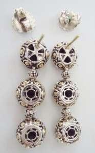 JOHN HARDY Batu Sari Cognac Quartz & Diamond Earrings