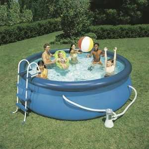 Sun 12 x 36 Easy Set Swimming Pool with Accessories Outdoor Play
