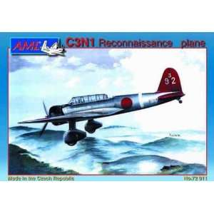 C3N1 Navy Type 97 Carrier Reconnaissance Aircraft Kit Toys & Games
