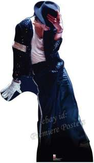 MICHAEL JACKSON KING OF POP LIFESIZE CARDBOARD CUTOUT