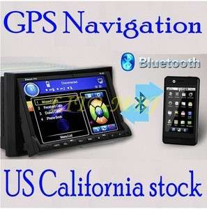 HD CAR DVD PLAYER RADIO GPS NAVIGATION+MAP+IPOD SD BLUETOOTH+PIP+TV
