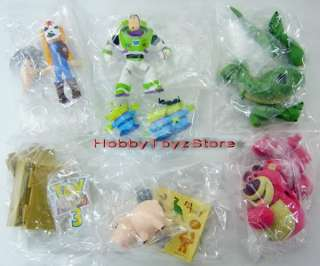 Tomy A.R.T.S Disney Pixar Toy Story 3 Charaters Figure Part 2 Full Set