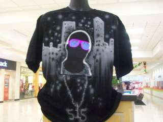 LED SHIRT SOUND ACTIVATED SHIRT LIGHT UP EL eQUALIZER