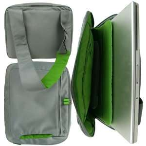 Quality Belkin Deluxe Laptop Messenger Bag Dove/Green