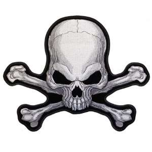 5 inch Patch   Pirate Skull and Crossbones: Arts, Crafts & Sewing