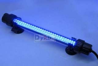 64 LED Aquarium Fish Tank Blue Submerged Light W switch