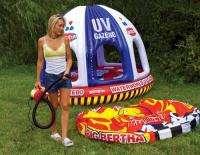 SportsStuff 3 PSI High Volume Inflator Electric Air Pump Water Toys
