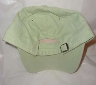 Chicago Cubs Baseball Cap Hat Light Green w CUBS logo