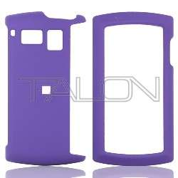 Purple Rubber Hard Case Cover Sanyo Incognito SCP 6760