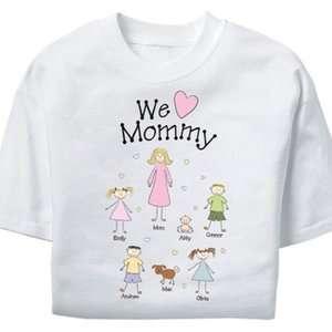 Personalized Heart Character Women s T shirt