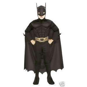 Rubies Batman The Dark Knight Muscle Chest Boys Costume