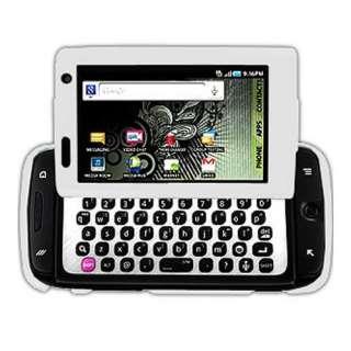 Mobile Samsung SideKick 4G T839 White Rubberized Hard Case Cover