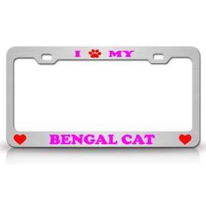 I PAW MY BENGAL Cat Pet Animal High Quality STEEL /METAL