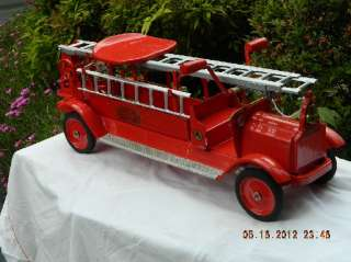 1920s Keystone Fire truck Aerial Ladder Sit N Ride
