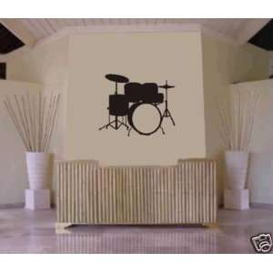 Sticker Music Drums Drummer Decals Stickers Wall Art Graphic Baby Room