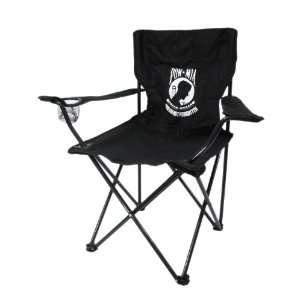 POW / MIA Logo Folding Camping Chair Not Forgotten