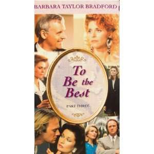 To Be the Best (Part Three): Lindsay Wagner, Tony Wharmby: Movies & TV