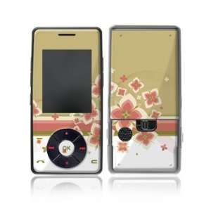 Flower Burst Design Protective Skin Decal Sticker for LG Chocolate