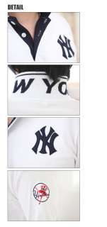 Mens EXTRA LARGE Slim Fit NEW YORK Yankees Polo Collar T Shirts 2XL