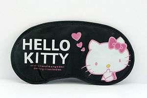 Hello kitty black eyemask Lovely sleeping mask AB 125