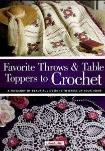 Amazing Afghans & Doilies Crochet Spiral Pattern Book