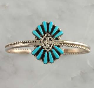 Rope Bracelet Zuni Sterling Silver .925 Native American Jewelry