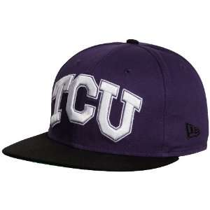 New Era Texas Christian Horned Frogs (TCU) Purple Black College Glory