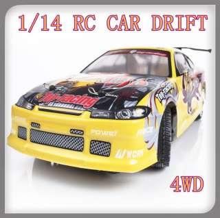 ELECTRIC RC CAR DRIFT Drifting 1/14 Remote Radio Control Controlled