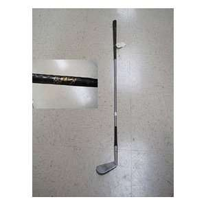 Tag Ridiings Autographed/Signed Golf Iron