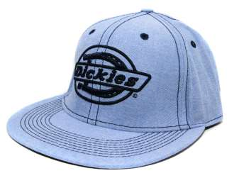 Dickies Flex Fit Flat Bill Hat Ball Cap   Assorted Styles