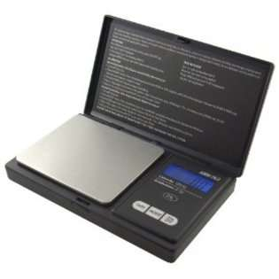 American Weigh Signature Series Black Digital Pocket Scale, 1000 by 0
