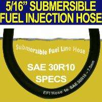 16 SUBMERSIBLE IN TANK FUEL LINE HOSE SAE30R10 SPECS