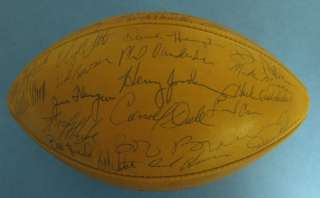 1969 Green Bay Packers 49 Signed/Autographed Football PSA/DNA Auto