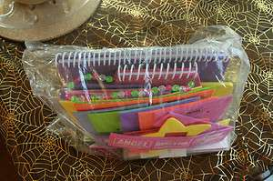BOX GIRLS FOAM JOURNAL, SCRAPBOOKING KIT W/PAPERS, STICKERS, CRYSTALS