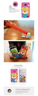 Samsung Galaxy S2 4G Pororo Harry Pink 3D Silicon Mobile Phone Cover