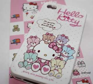 AUTHENTIC SANRIO HELLO KITTY PARTY SOFT RUBBER SILICONE CASE COVER