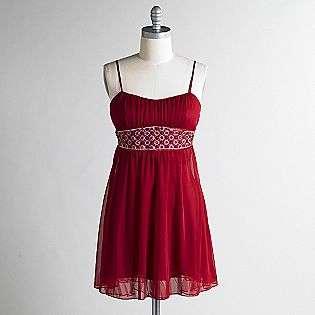 Juniors Sleeveless Beaded Waist Dress  Ruby Rox Clothing Juniors