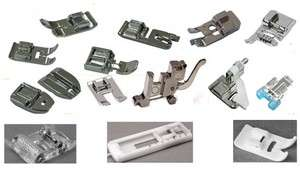 High Quality Set of 14 SNAP ON Presser Feet for Janome Sewing Machines