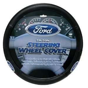 006445 Ford Mustang Ford Oval Logo Steering Wheel Cover Automotive