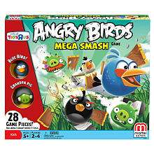 Angry Birds Mega Smash Board Game   Mattel