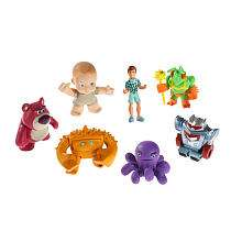 Toy Story 3 Buddy Figures 7 Pack   Lotsos Gang   Mattel