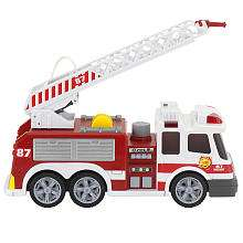 Fast Lane Light & Sound Fire Truck   Toys R Us