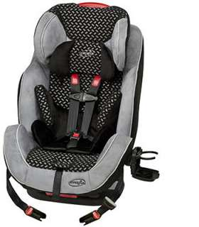 Evenflo Symphony 65 LX All In One Convertible Car Seat   Graphic Black