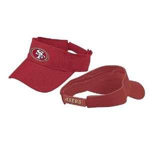 San Francisco 49ers NFL Team Logo Visor By Reebok: Sports & Outdoors