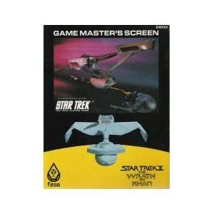 Gamemasters Screen (Star Trek: The Role Playing Game): staff: Books