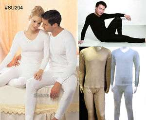 Mens Silk Long John Set/Thermal Underwear~M/L/XL●SU204