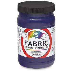 Speedball Water Base Textile Screen Printing Inks   Violet
