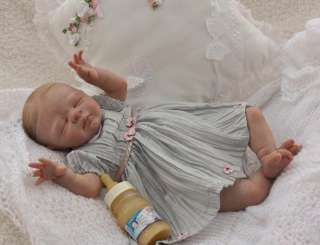 Cherished Reborn Nursery baby Girl Art Doll so precious and so real NO