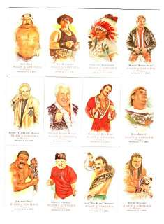 WWE 2007 Allen & Ginter Topps Heritage III 12 Card Set