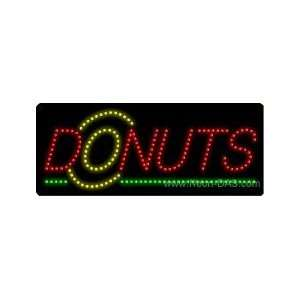 Donuts LED Sign 11 x 27 Home Improvement